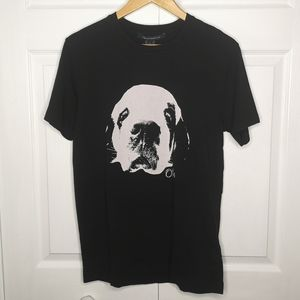 French Connection Otis Band Tee Size Small